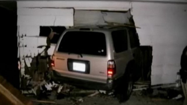 Baby Survives After SUV Crashes Into Her Bedroom
