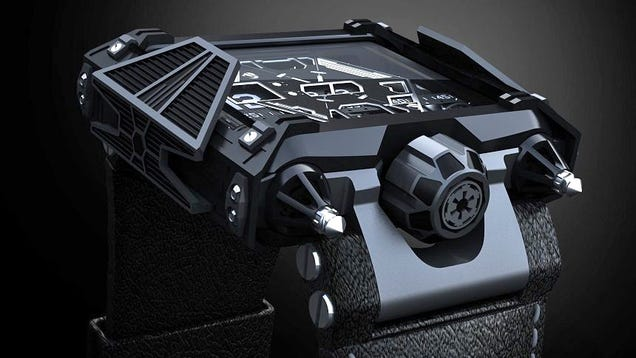 A $28,500 Watch For Obscenely Well-Funded Star Wars Fans