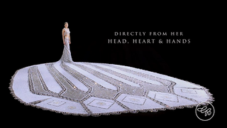 For the Bride Who Has Everything, a 400-Pound Wedding Dress