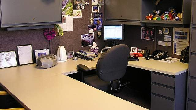 Challenge Winner: Use Chair Signs for Some Cubicle Privacy