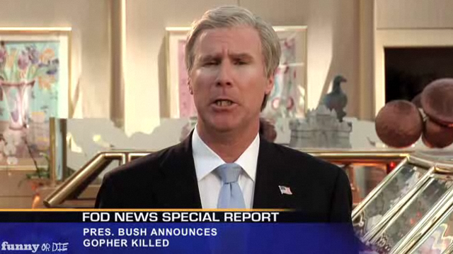 This Week's Top Web Comedy Video: Will Ferrell's George W. Bush Reprise