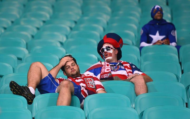 Here's What The USMNT Loss Felt Like Inside The Stadium
