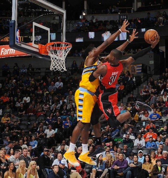 Terrence Ross Posterizing Kenneth Faried Is Now An Awesome Animation