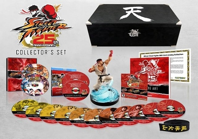 Holy Crap, Is There a Lot of Stuff in Street Fighter's $150 Anniversary Edition—for PS3