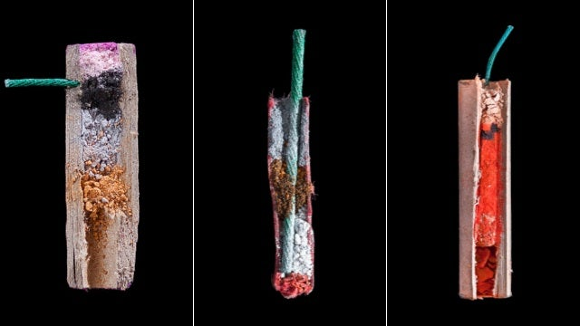 Cross-Sections of Fireworks Show the Part of the Boom You Never See