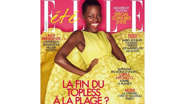 Lupita Nyong'o Is a Yellow Vision Of Fabulous On French Elle
