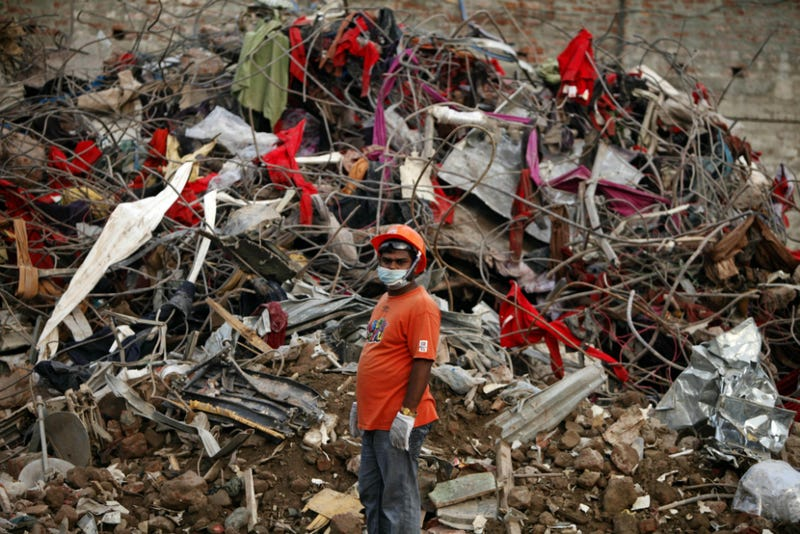 Search Ends for Survivors of Bangladesh Building Collapse