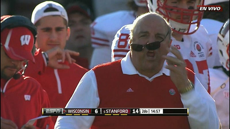 A Rusty Barry Alvarez Struggled With Some Of The More Complicated Aspects Of Coaching, Like How To Wear Sunglasses