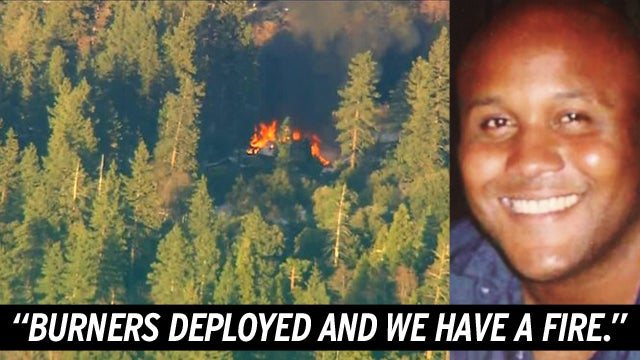 Cops Accused of Starting Fire as Charred Body Found in 'Dorner' Cabin
