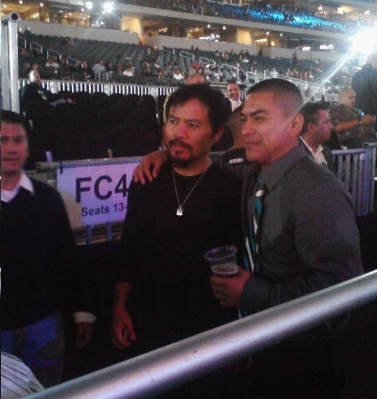 Jesus Walks Like A Cowboy: Manny Pacquiao Does Dallas