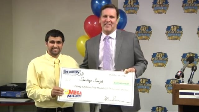 Mega Millions Jackpot Winner: My Girlfriend Just Dumped Me, 'Thank God'