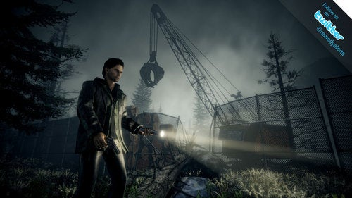 New Alan Wake Screenshot Is Comfortable Following A Well-Worn Path