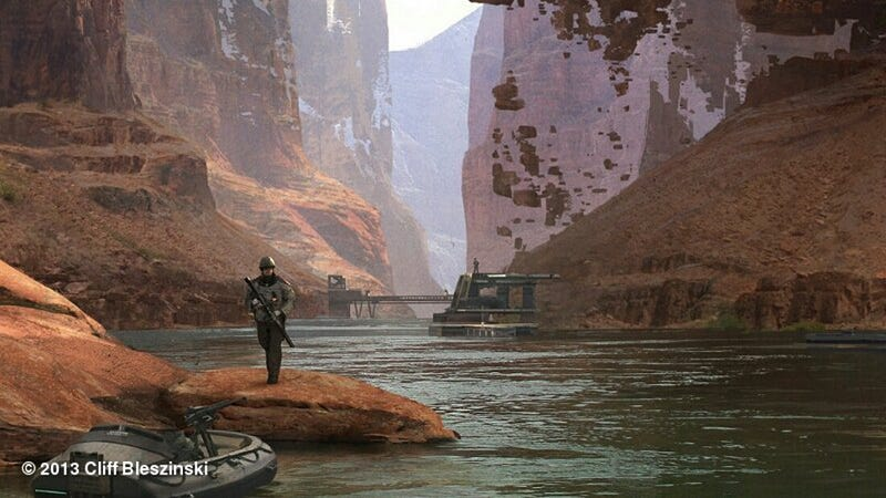 Here's A Sneak Peek at Cliff Bleszinski's New Project