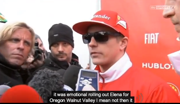 Kimi Raikkonen Interviews With The Auto-Captions On Are Enjoyable