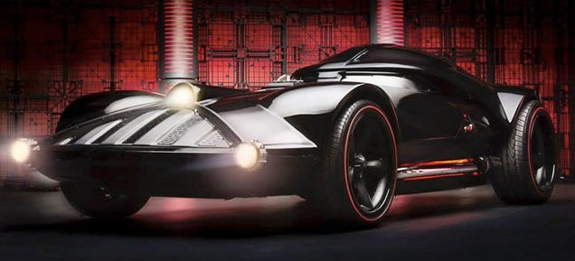 Life-Size Darth Vader Hot Wheels: That's No Hoon