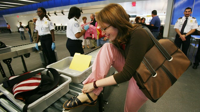 Shoeless Airport Security Checks May Be Coming To An End
