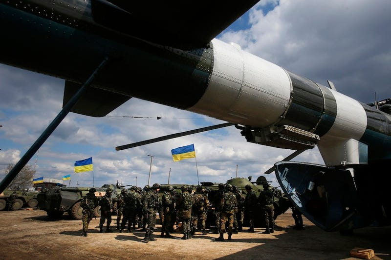 "Ukraine Launches ""Anti-Terror"" Operation as Russia Warns of Civil War"