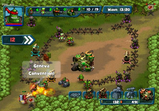 Robocalypse Applies Beaver Defense To WiiWare
