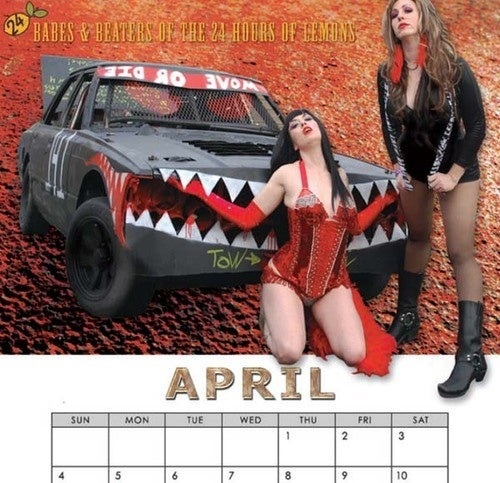 Ruin Your Garage With The Babes & Beaters Calendar!