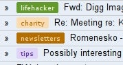 Gmail Adds Colored Labels (Without Greasemonkey)