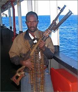 Kid Journo Establishes Contact with Somali Pirates