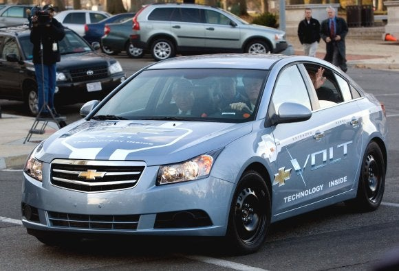 Obama's Auto Task Force To Drive Chevy Volt Mule Tomorrow