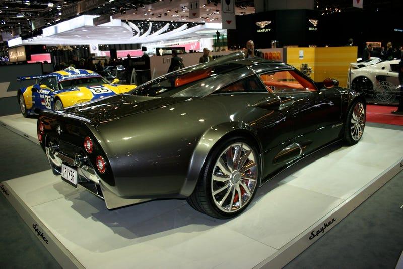 Spyker C8 Aileron: Geneva Goes Aeronautical