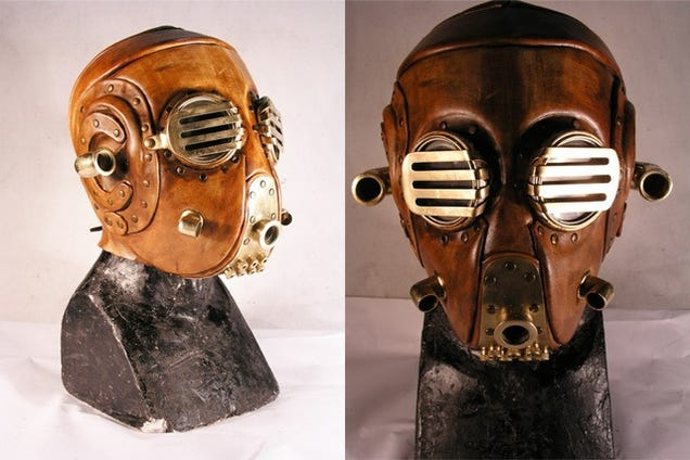 Steampunk Soviet Gas Mask Looks Like That Nazi From Hellboy 1