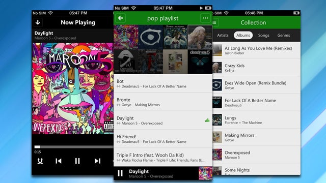 Xbox Music Syncs Libraries Across Platforms, Streams Free on the Web