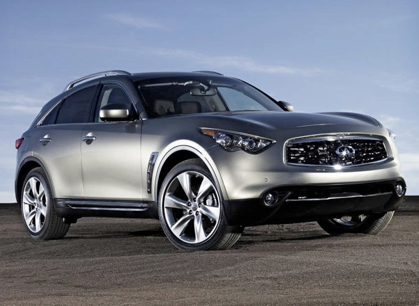 2009 Infiniti FX50 Revealed At Poorly-Lit Function