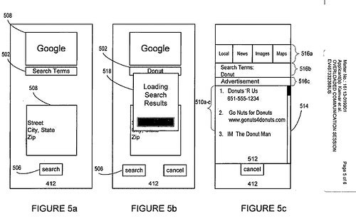 Google Cellphone Patent Enables Faster Searching