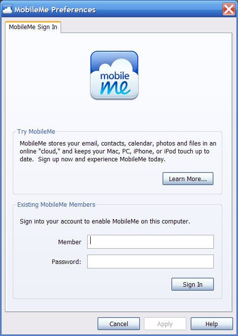 MobileMe Updates for Windows Have Apple Pushing Borderline Bloatware Again