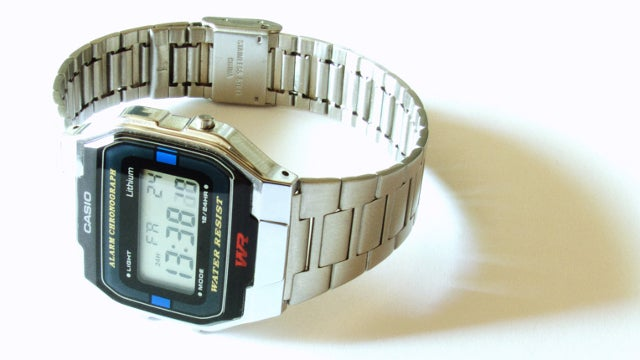 Nobody Needs a Watch Any Fancier Than a Casio Digital