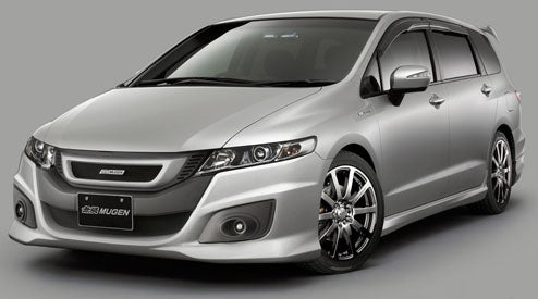 Mugen Kits Already Out For JDM Honda Odyssey