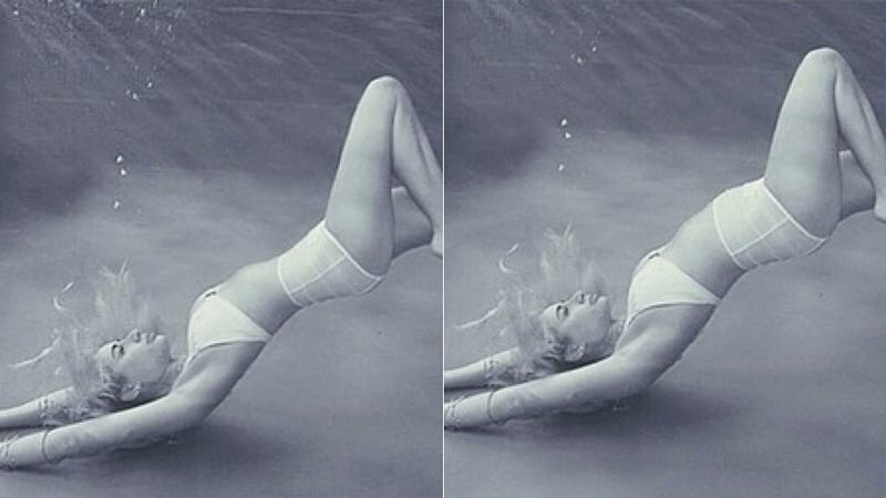 Model Goes Nuclear on Photoshop-Happy Swimsuit Brand