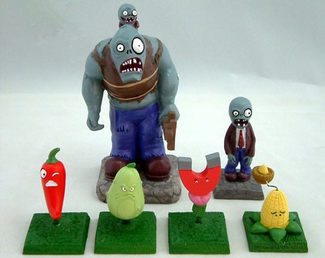 These Plants Vs. Zombies Toys Are Going Right On My Lawn