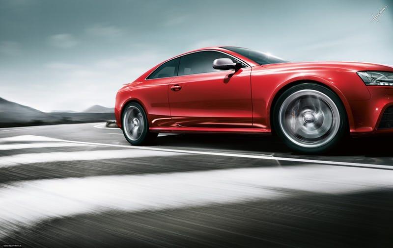 Audi RS5: First Photos