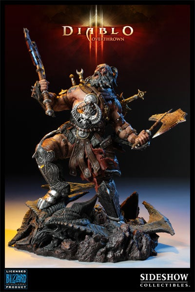 $300 Diablo Statue Rages Against Price (And Apples!)