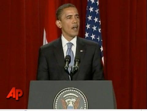 "Barack Obama's Statement To Iran: ""The World Is Watching."""