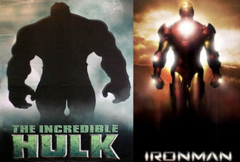 Hulk and Iron Man In Super-Movie Crossover