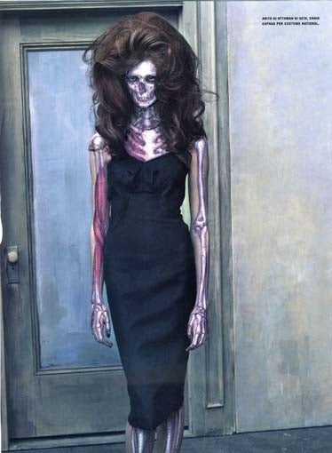 Zombie Fashion Models Show Off More Than Skin