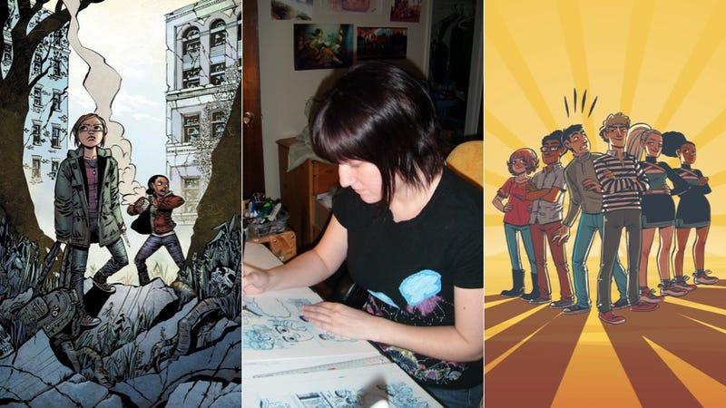 This Artist Draws Evil Cheerleaders, Hunky Leon and The Last of Us