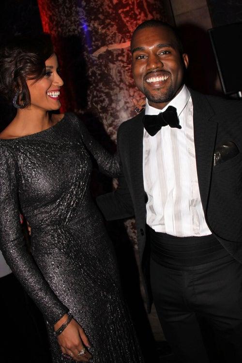 Selita & Kanye Are Dazzling & Dapper