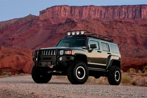 Hummer H3 Moab Gallery