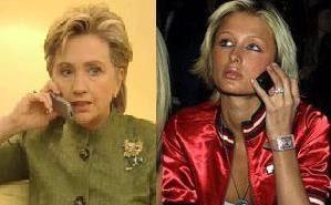 Paris Hilton And Hillary Clinton Get Crucified On Tuesday