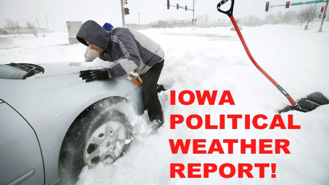 Here's Your Useless Iowa Political Weather Report