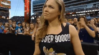 Ronda Rousey Just Killed Wrestlemania Wearing A <i>Dragon Ball Z</i> Shirt