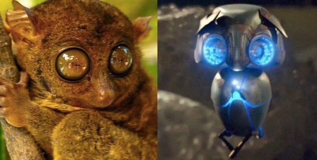 real life alien robots movie