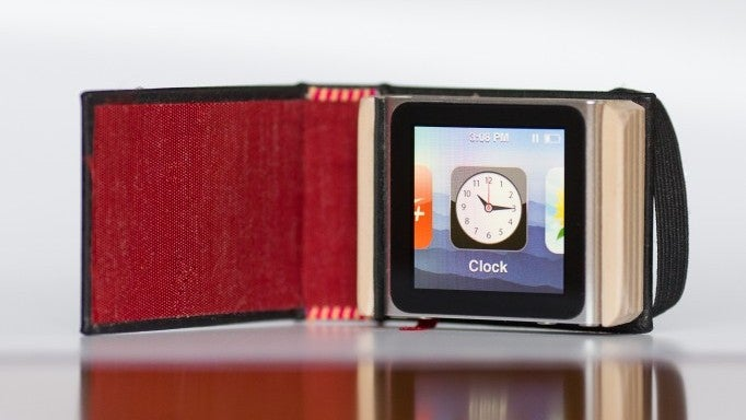 Shroud Your iPod Nano In This Adorable Little Black Book