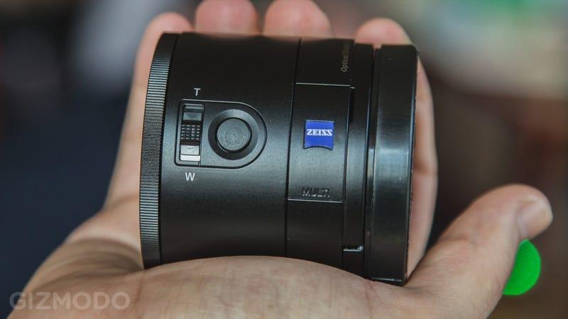Sony QX10 y QX100, los objetivos que convierten tu móvil en cámara